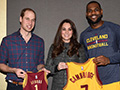 LeBron makes bold statement in front of royalty