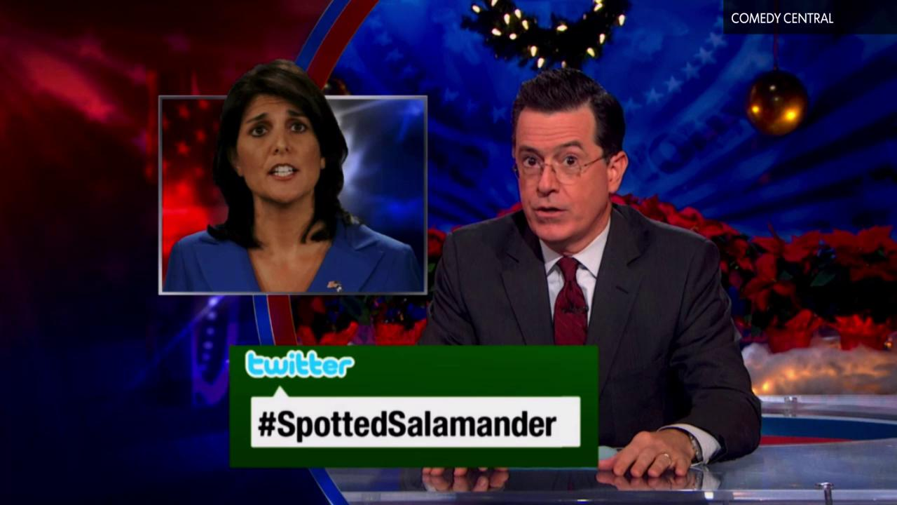 As Stephen Colbert prepares to bid farewell to his desk on Comedy Central's Colbert Report, USA TODAY's Donna Freydkin shares 5 of her favorite Colbert moments.