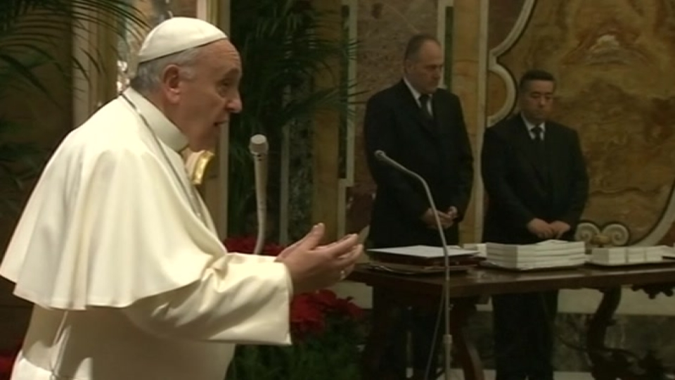 """Pope: """"we are happy"""" with new Cuba relations"""