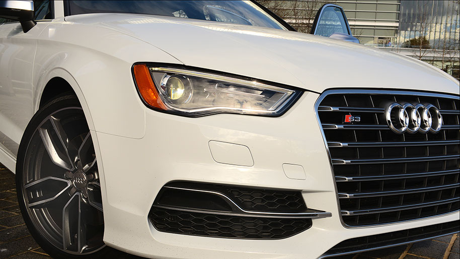 Th Audi A3 series shoots for entry level luxury
