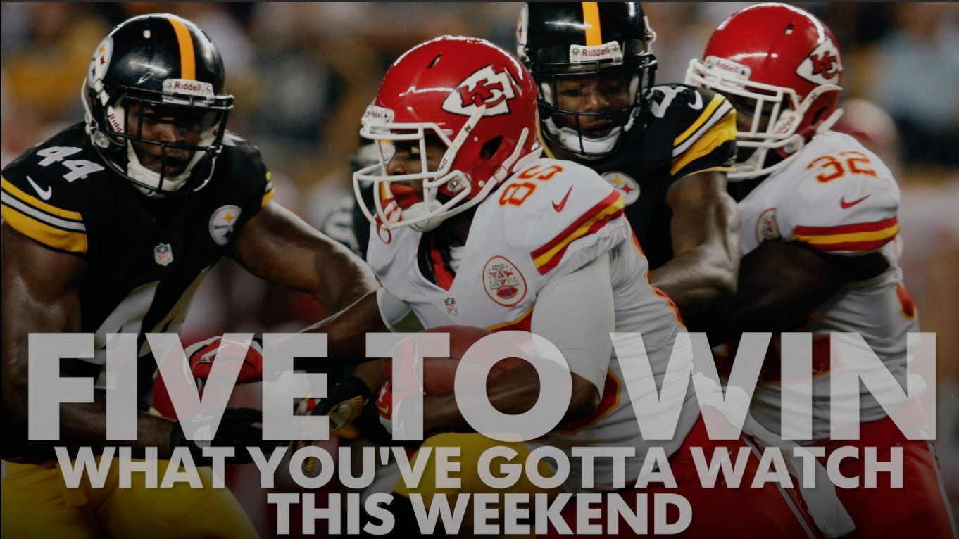 5 things to watch this weekend: TD to a Chiefs WR?