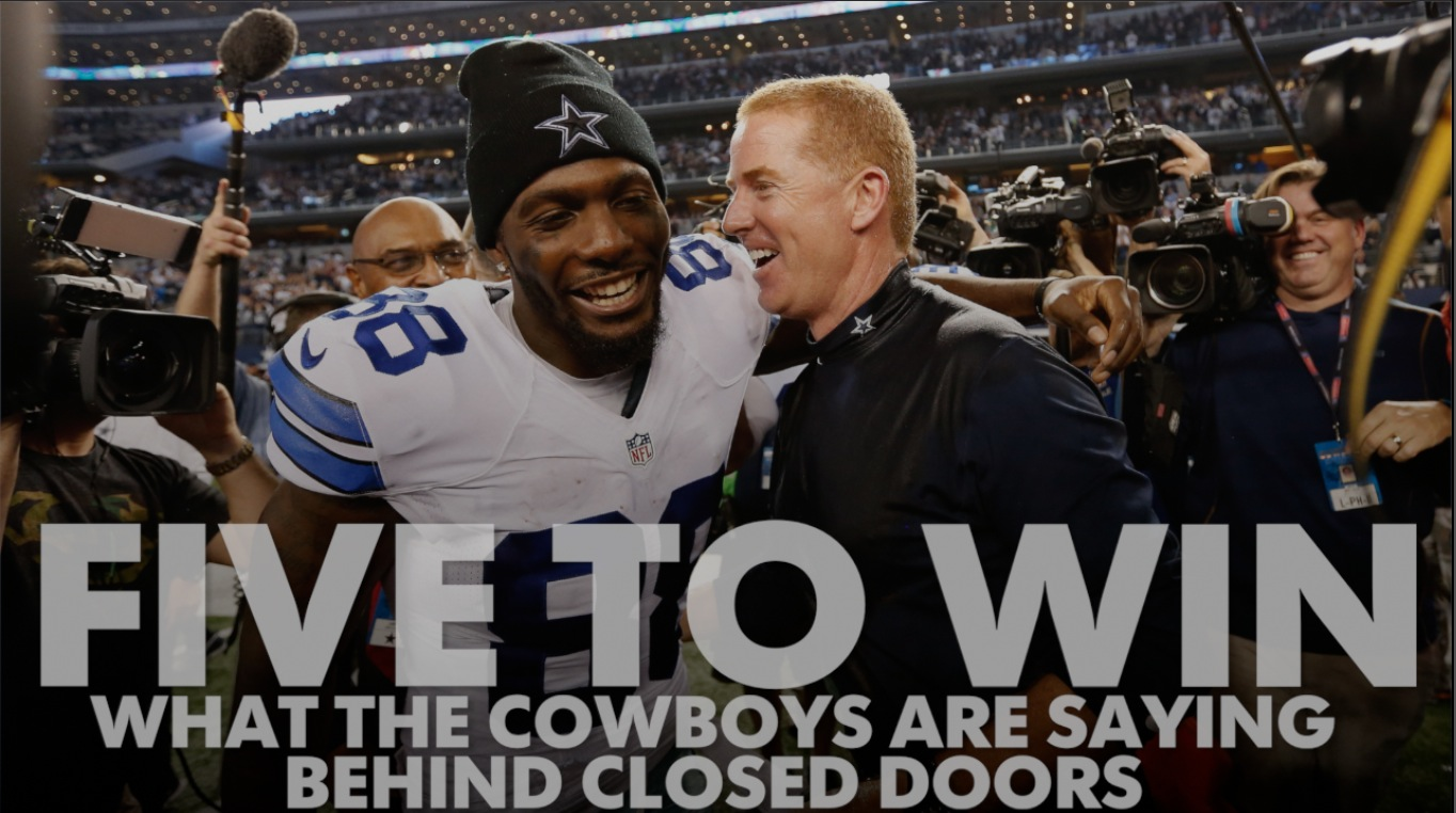 Five to Win: What the Cowboys are saying behind closed doors