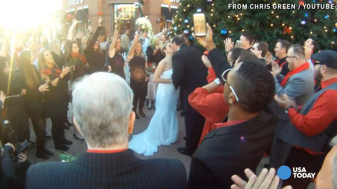 Flash mob wedding: Go inside groom's master plan!