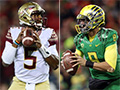 Heisman winners square off in Rose Bowl