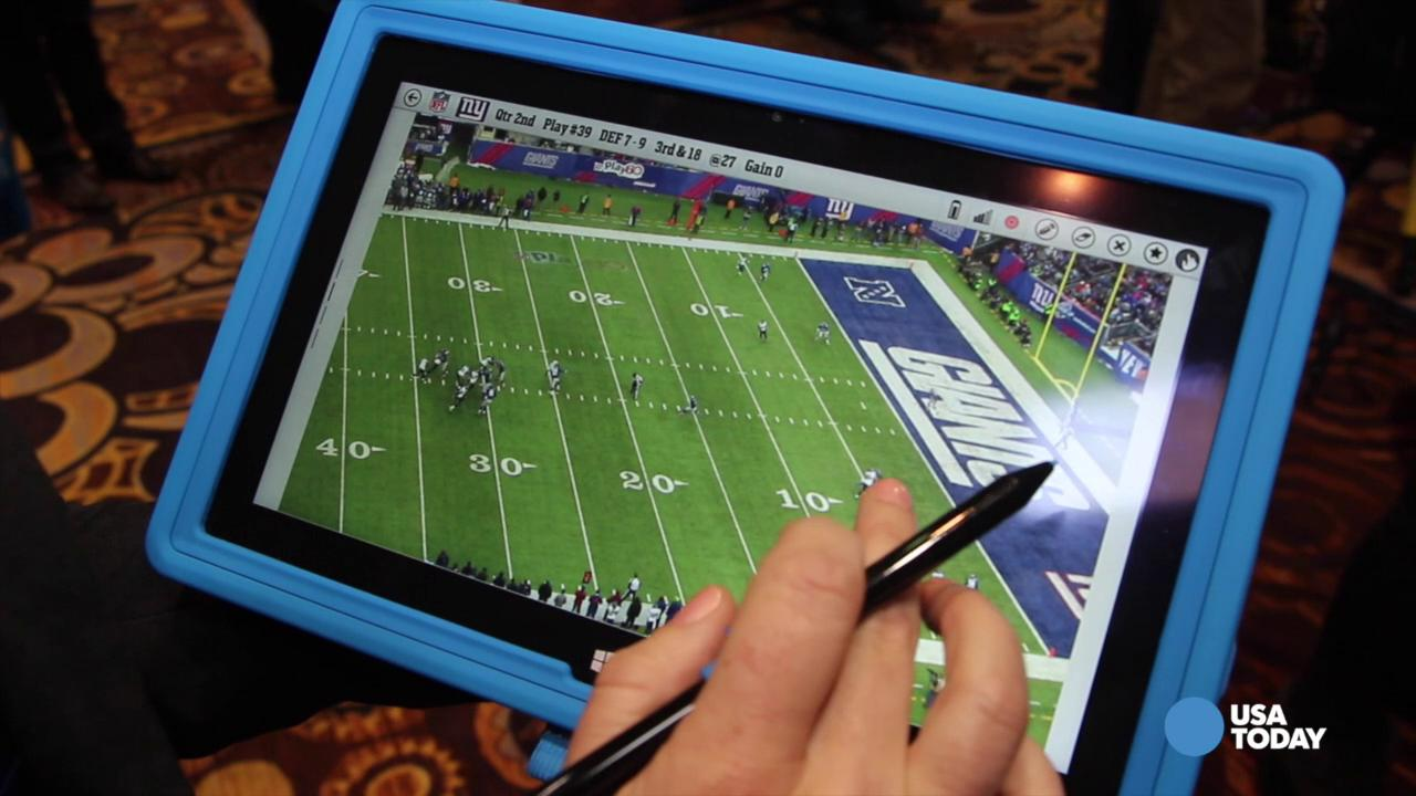 Microsoft Surface gets an NFL sidelines pass