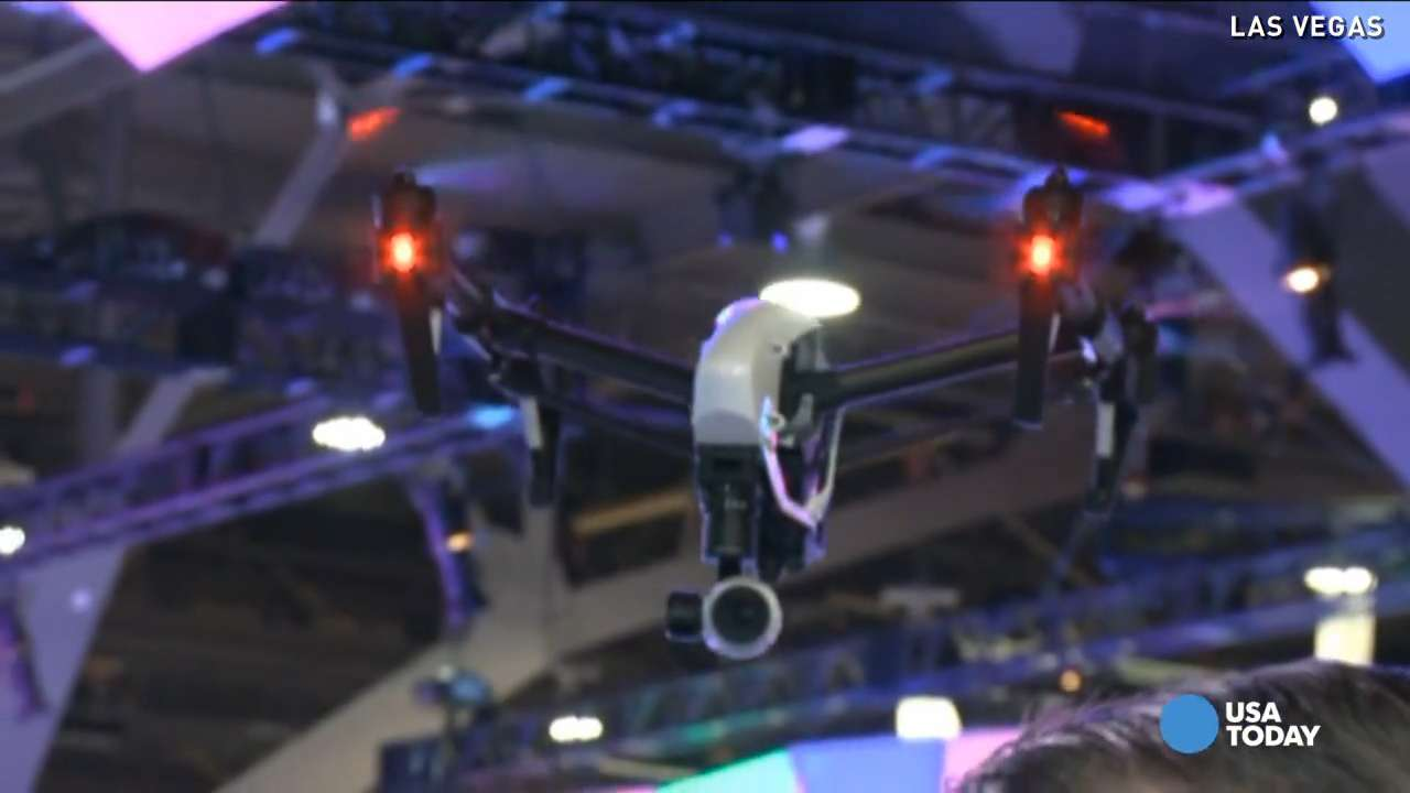 New drone among most popular unveiled at CES 2015