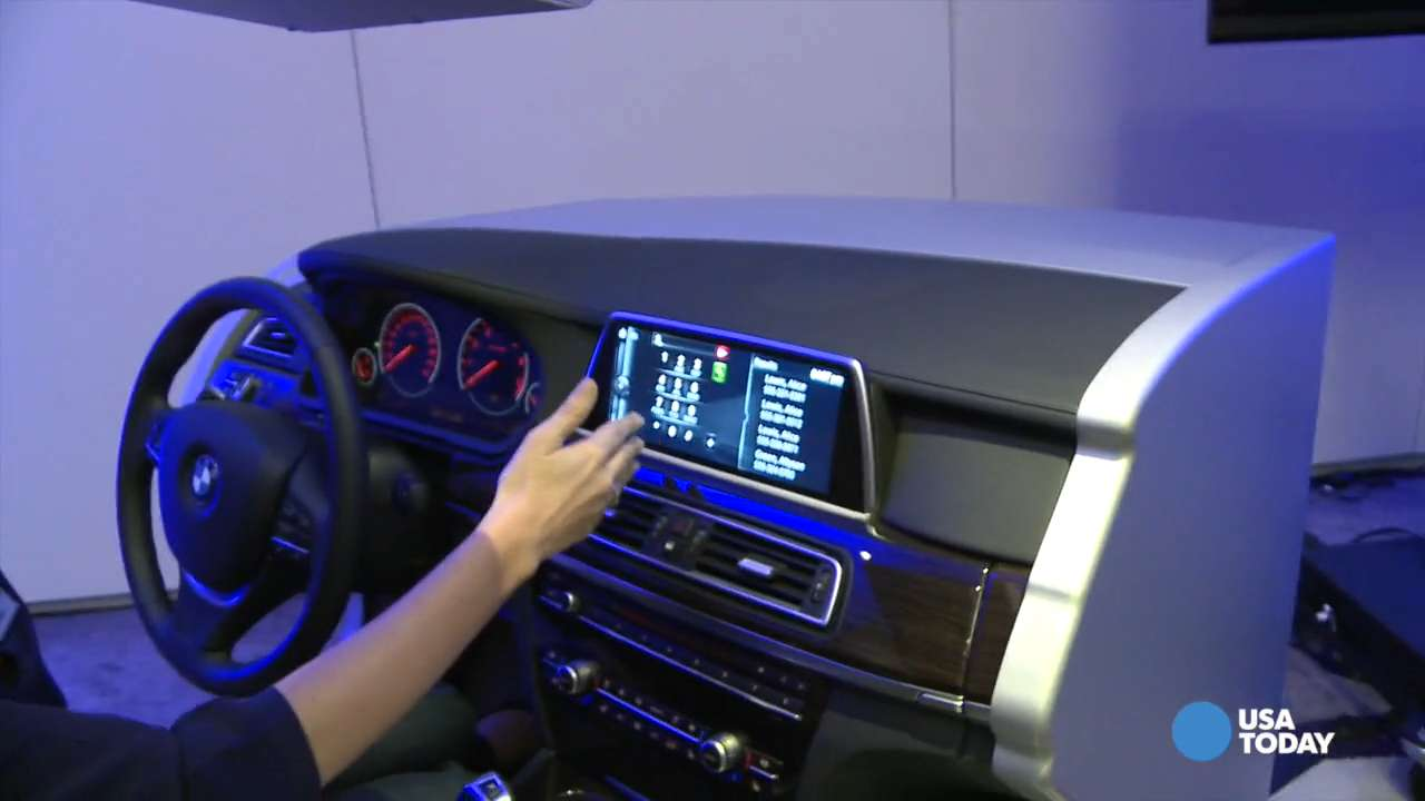 Model  BMW39s Innovations In Hand Gesture Controls And Selfparking Vehicles