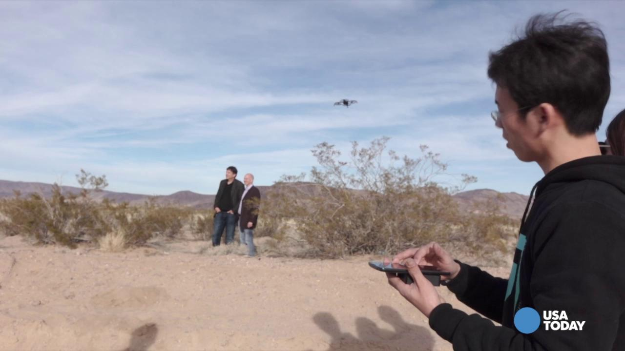 Anyone can fly this drone