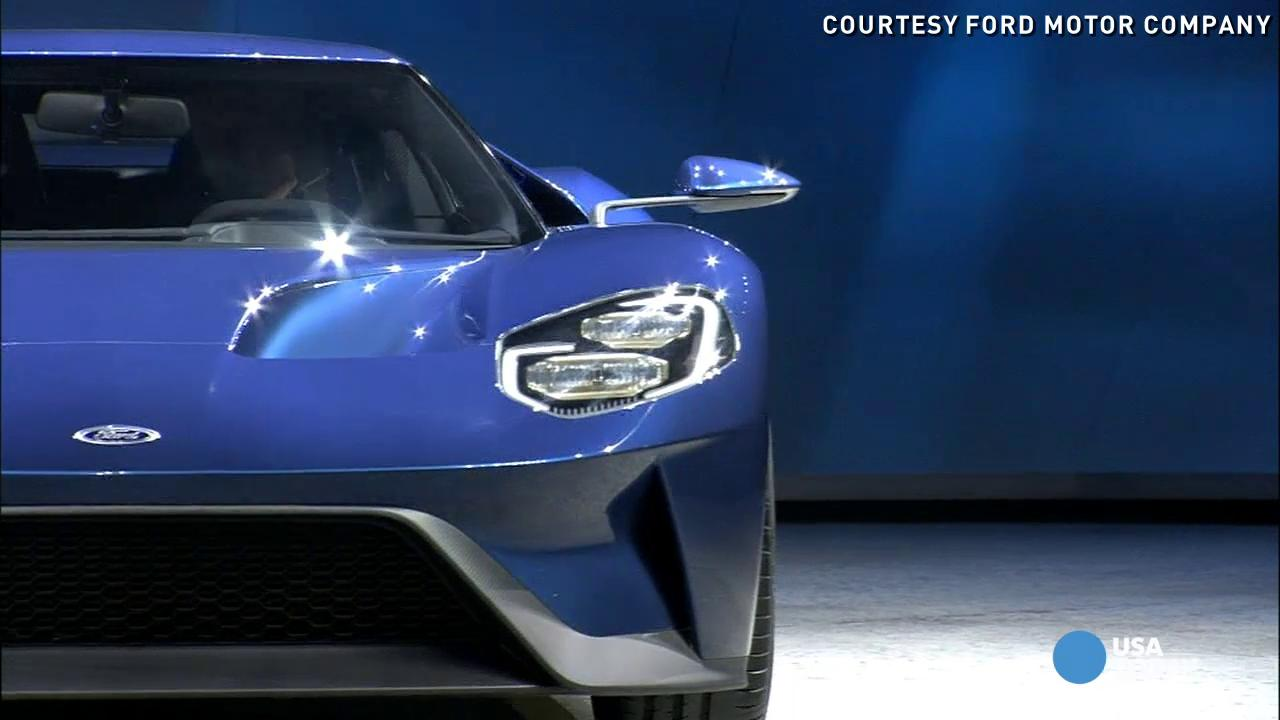ford shows gt successor gt350r mustang and new raptor - 2015 Ford Gt Auto Show