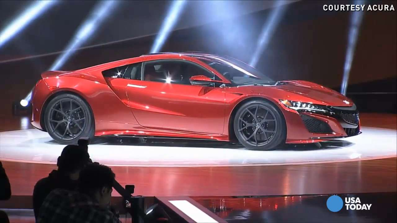 acura shows revised nsx supercar and prices it. Black Bedroom Furniture Sets. Home Design Ideas
