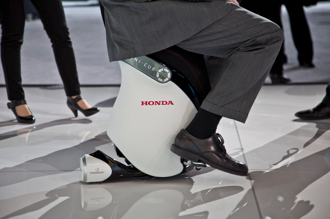 Honda S Uni Cub Is A Bar Stool On Wheels