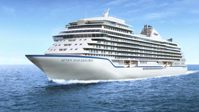 The Seven Seas Explorer cruise ship's 'Regent Suite' will come with 3,875 square feet of space and a $65,178 price tag when it launches. Mike Janela (@mikejanela) has the details. Video provided by Buzz60