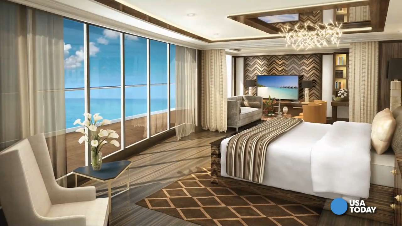 "Get an inside look at the lavish details aboard the Regent Seven Seas Explorer, the ""most luxurious ship ever built. """