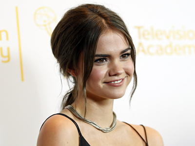 Maia Mitchell talks 'The Fosters'' love quandary