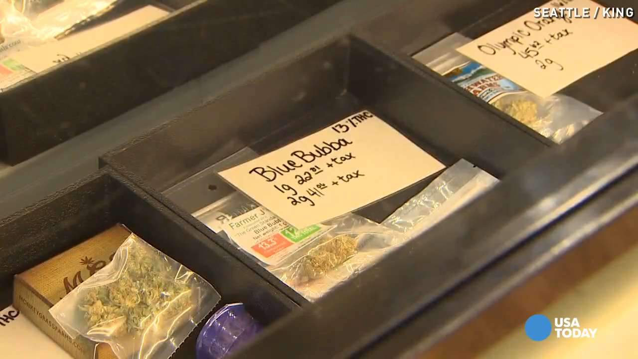 Legal pot prices plummet in Washington