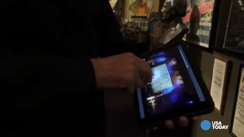 David Copperfield never leaves home without the iPad