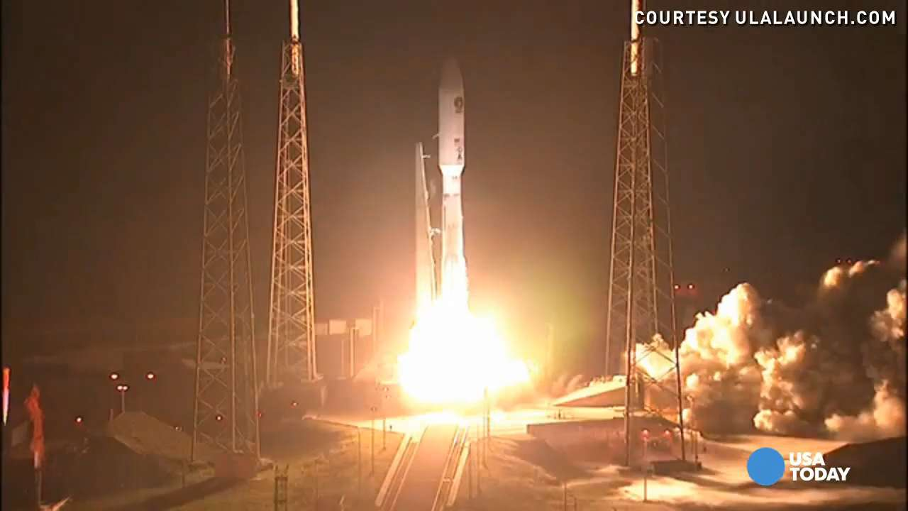 Atlas V rocket launched successfully for Navy mission