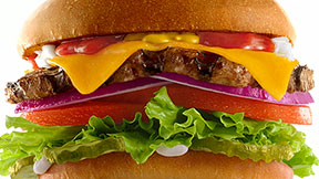Carl's Jr. All-Natural Burger Super Bowl spot