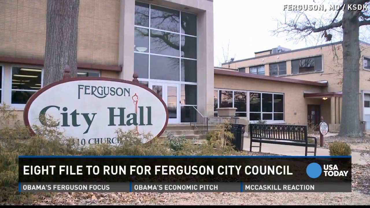 8 candidates file to run for Ferguson City Council