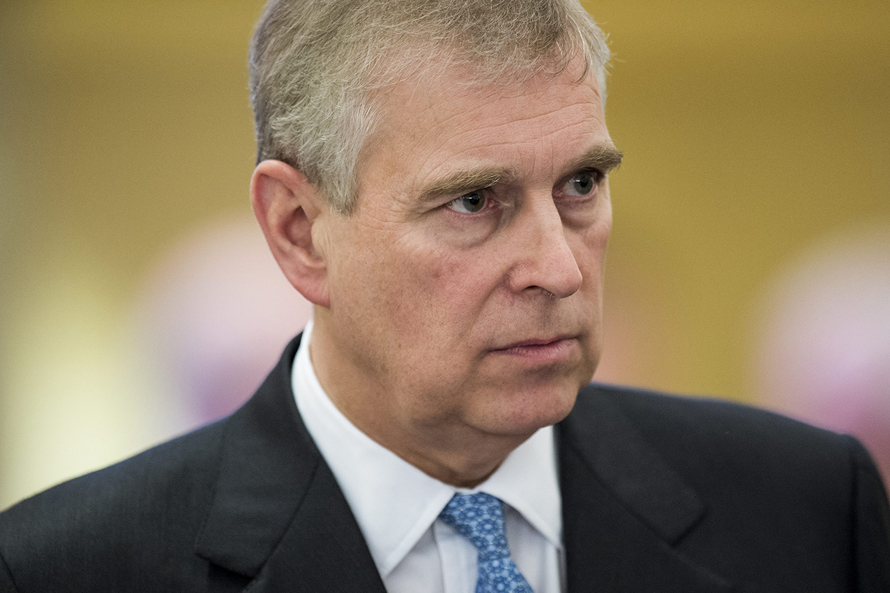 Prince Andrew breaks silence about sex claims