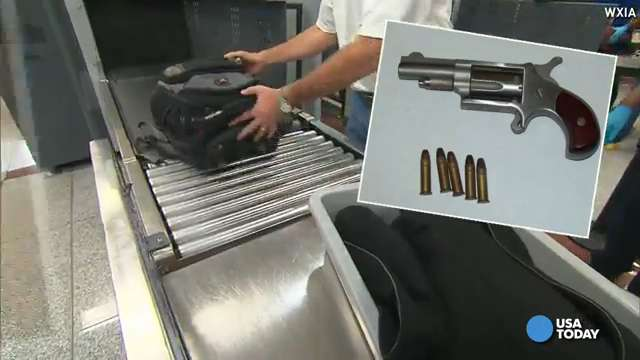 TSA found record guns, knife in enchilada in 2014