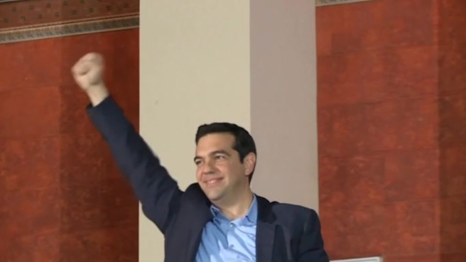 Greek youths welcome Syriza victory