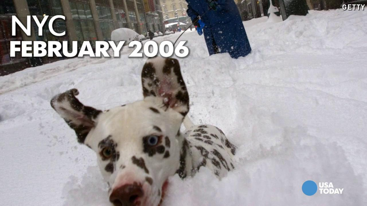 See the worst winter storms to hit NYC since 2000
