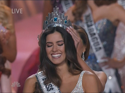 Miss Colombia Crowned Miss Universe