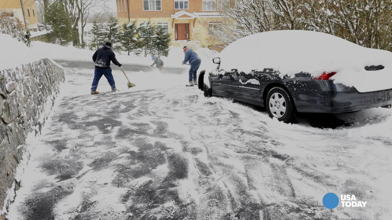 How one driveway in westchester county n y gets cleared fast