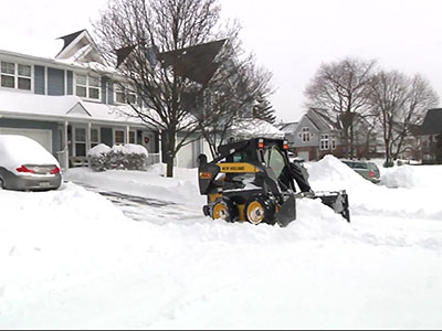 long island digs out from almost 2 feet of snow. Black Bedroom Furniture Sets. Home Design Ideas