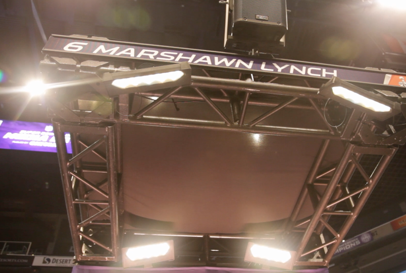 Marshawn Lynch goes quiet on Super Bowl Media Day