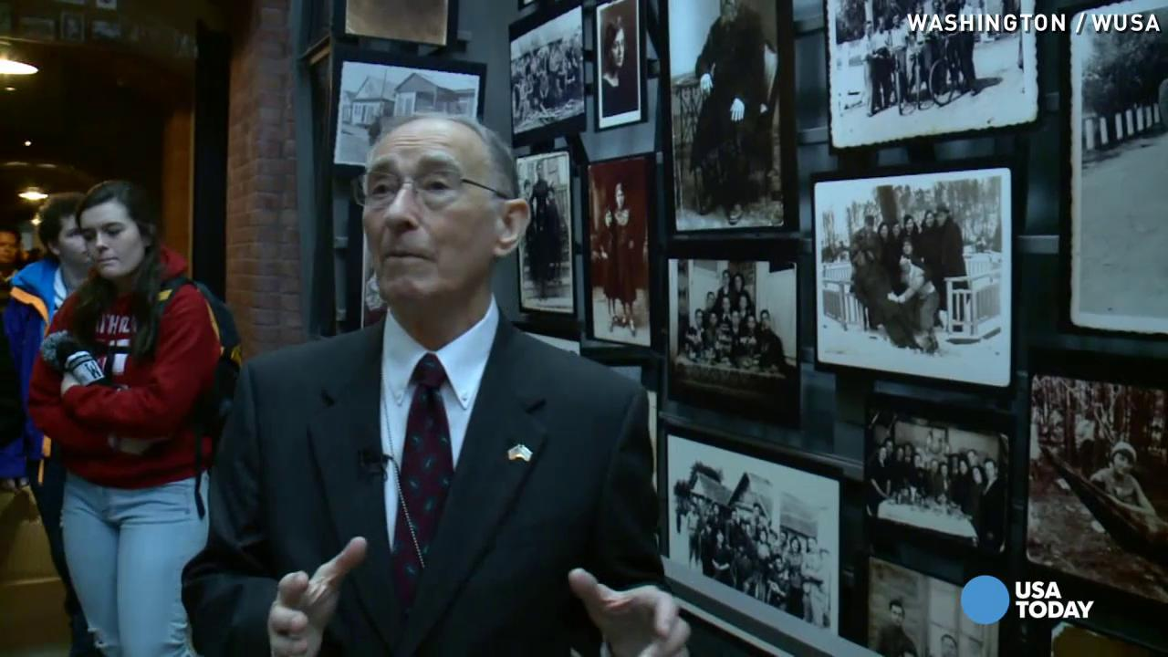 Holocaust survivor relives experiences every week