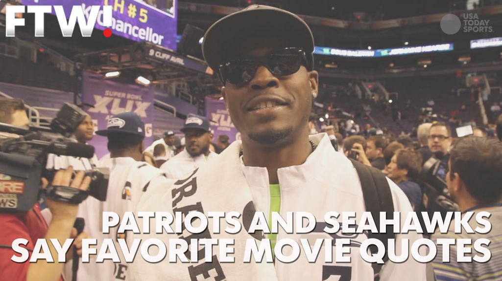 Patriots and Seahawks players drop their favorite movie quotes