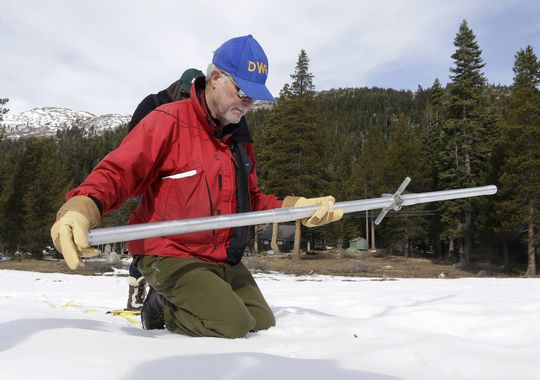 Light snowpack doesn't bode well for parched West