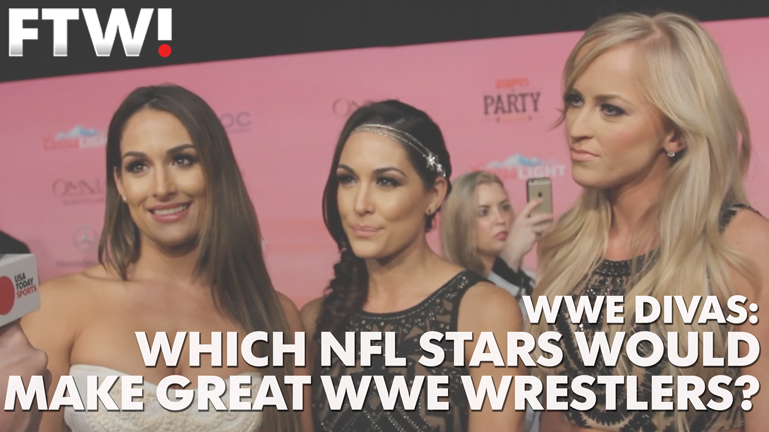 WWE Divas nominate NFL players to be pro wrestlers