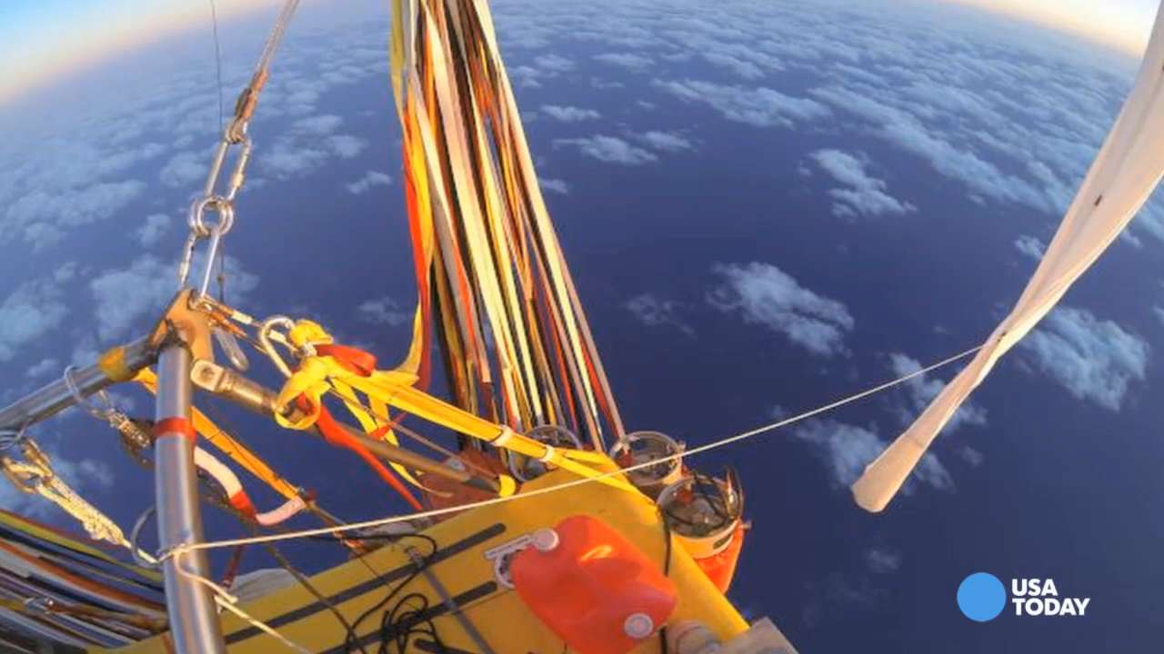 Balloonists land in Mexico after record-setting flight