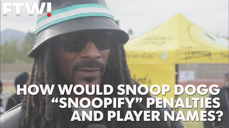 Snoop Dogg explains how he'd change NFL rules, players