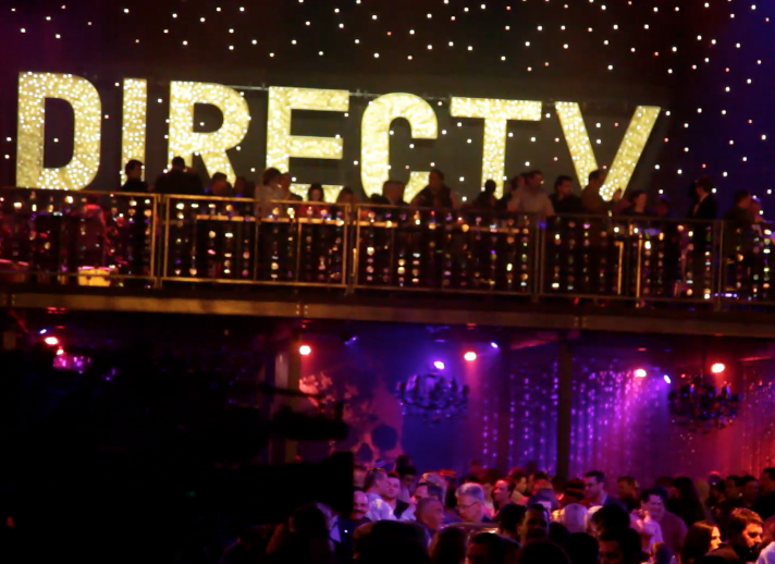 Rihanna performs at DirecTV Super Saturday Night Party