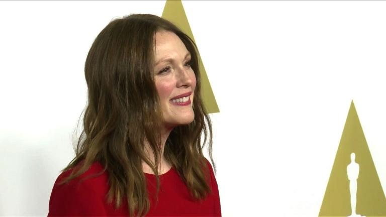 Oscar nominees gather for luncheon
