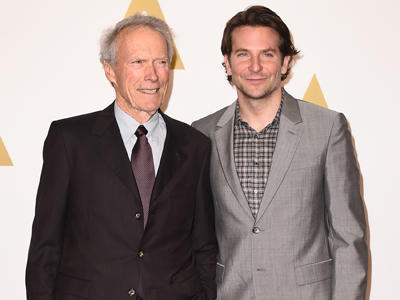Eastwood, Cooper, Redmayne attend Oscar lunch