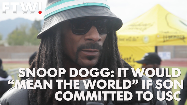 Snoop Dogg: It would 'mean the world' if son went to USC