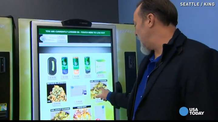 Seattle Gets A Marijuana Vending Machine