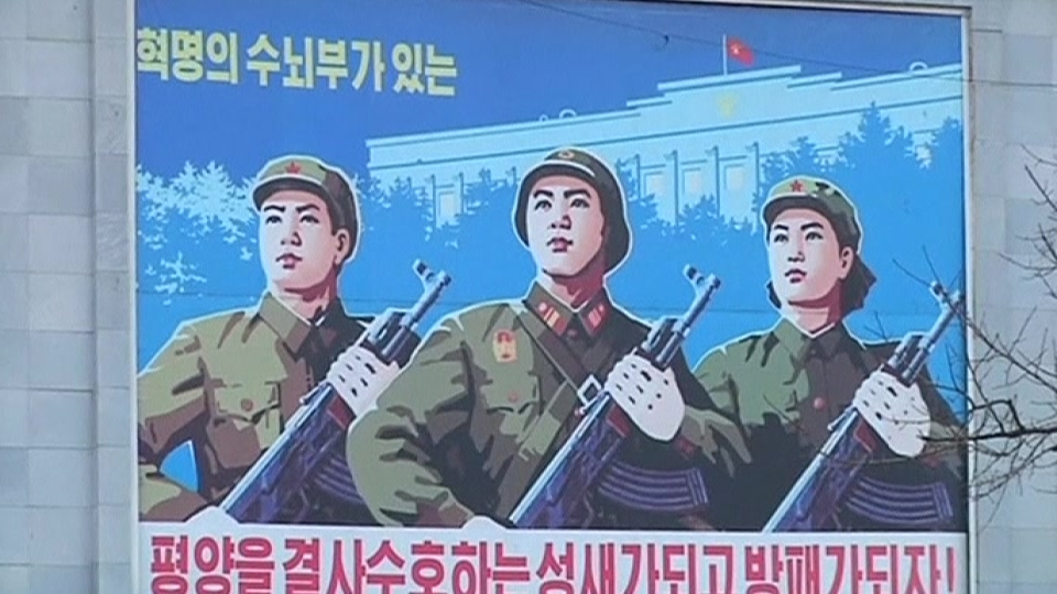 North koreans condemn US sanctions