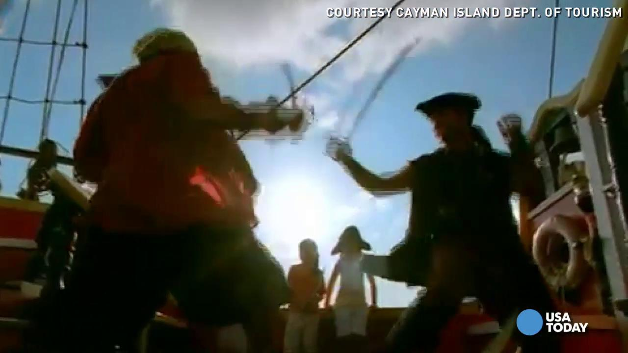 Top 5 places pirates can pillage, pilfer and plunder