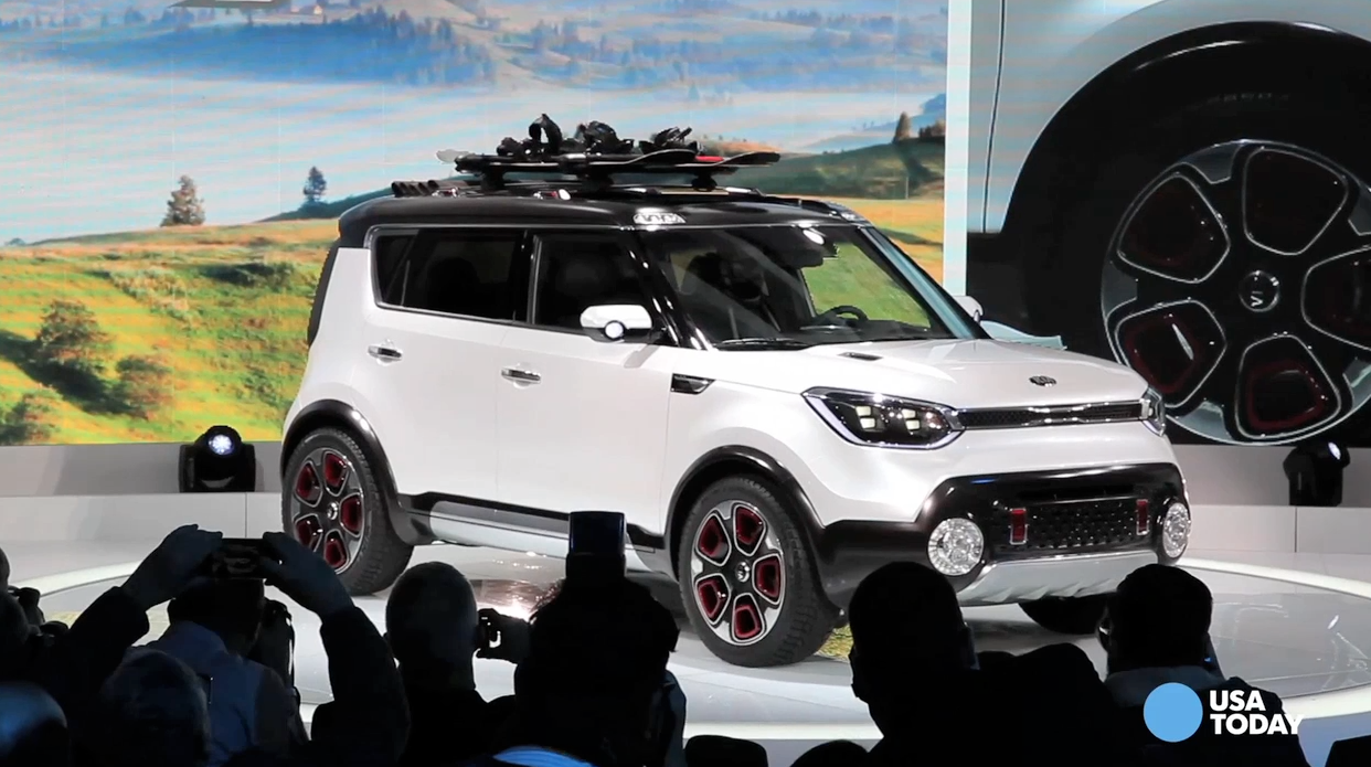 Kia Soul goes for a hike with Trail'ster concept