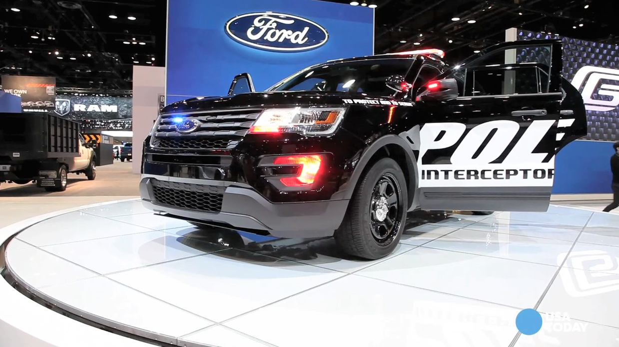 New Ford police SUV puts on the dog at Chicago Auto Show
