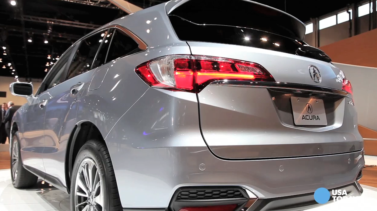 Acura's RDX gets new swoopier styling