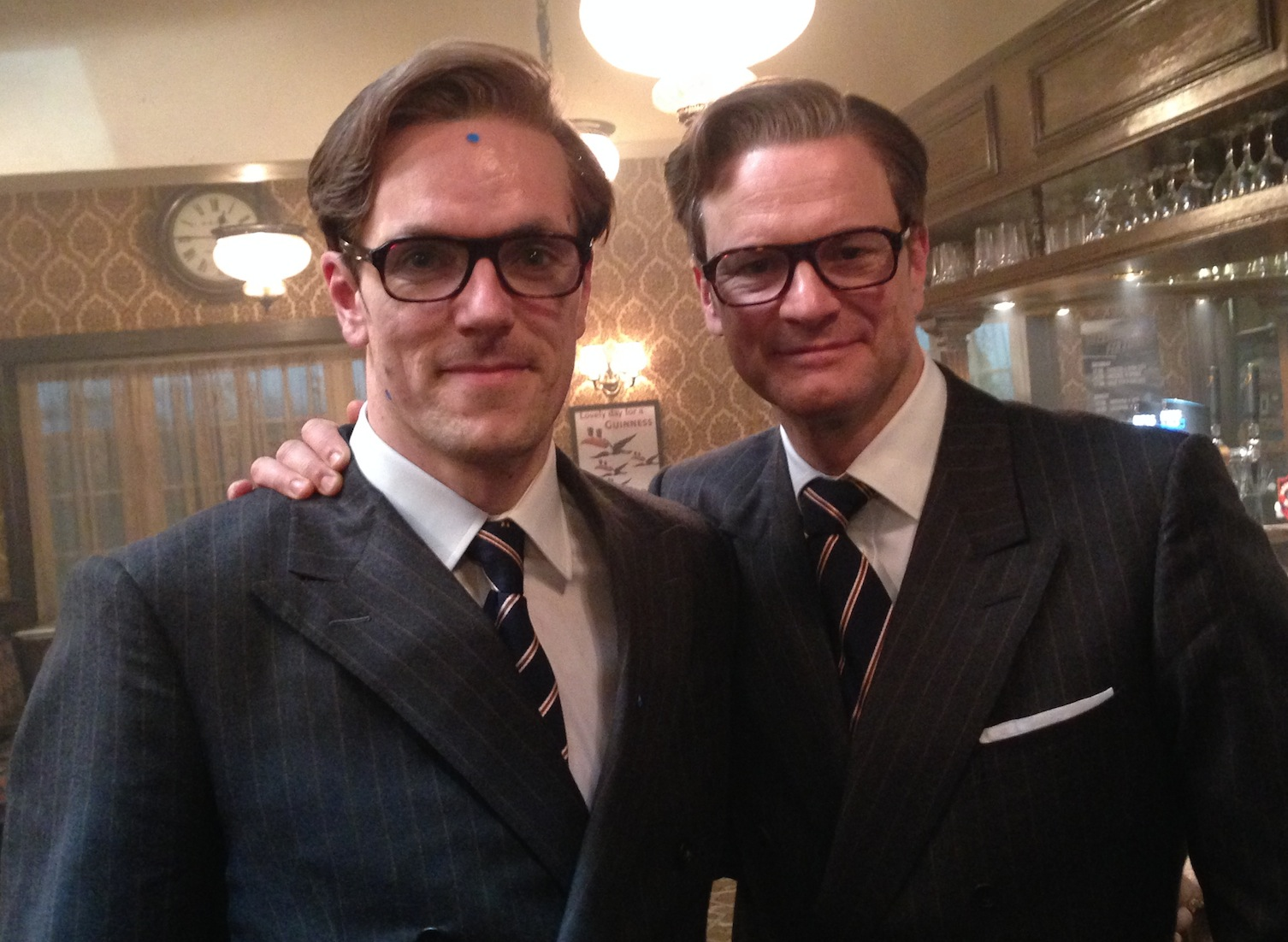 Colin Firth's double: ...
