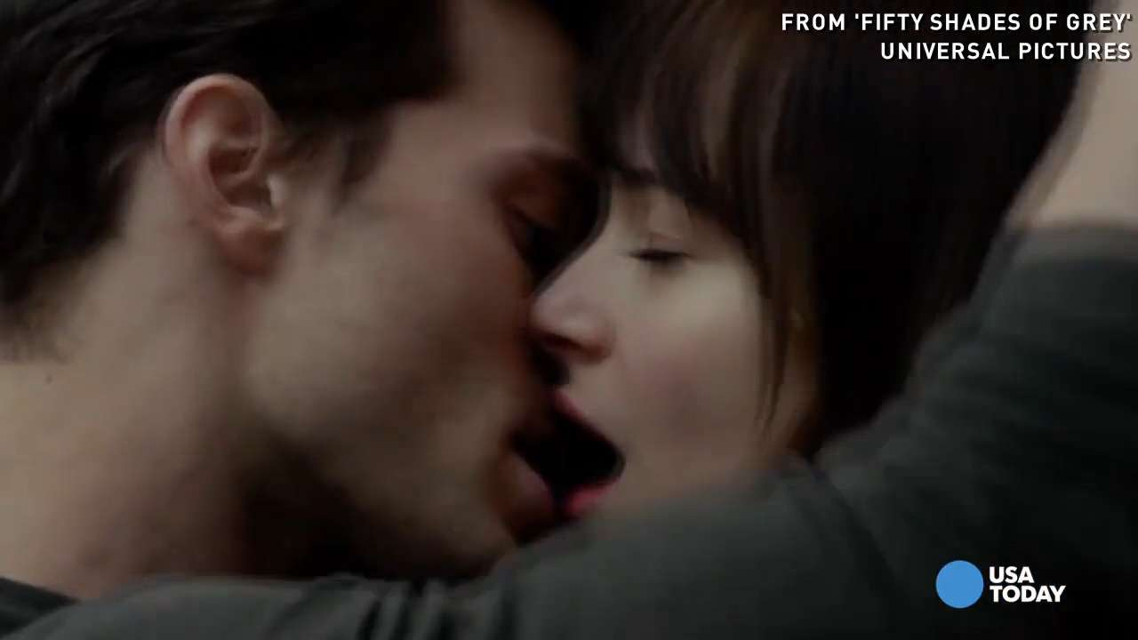Jamie Dornan's first kiss full of 'aggression'