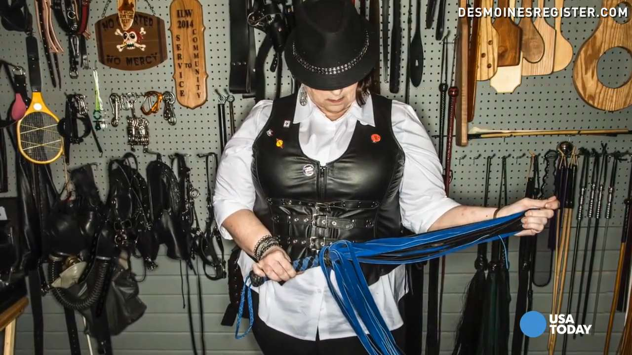 Inside a dominatrix's real-life 'Fifty Shades' dungeon